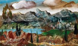 Molnár C. Pál - Felhős táj (1969)