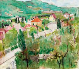 Péter Mária - Budai hegyoldal (Pasarét)