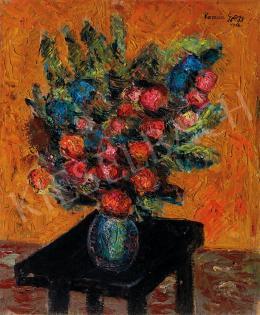 Román György - Virágcsendélet (1966)