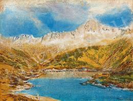Mednyánszky, László - Landscape in the High-Tatras
