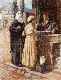 Bozzarich, Spiro - Keleti vásár