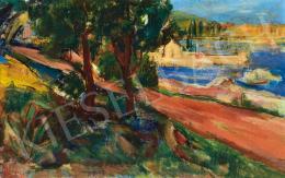 Vušković, Miloš - Spring Landscape (Predeo Sa Primoria) (1934)