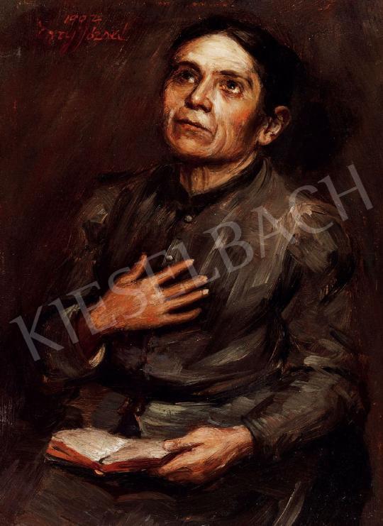 Egry József - Nő könyvvel | 43. Aukció aukció / 35 tétel