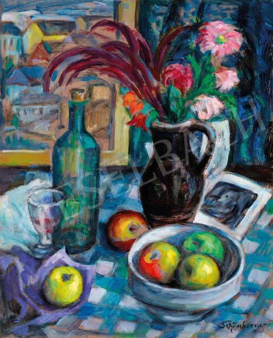 Schönberger Armand - Csendélet | 43. Aukció aukció / 80 tétel