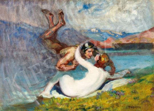 Thorma János - Szerelem (Zeusz és Dioné) | 43. Aukció aukció / 88 tétel