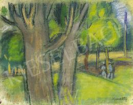 Kmetty János - Parkban