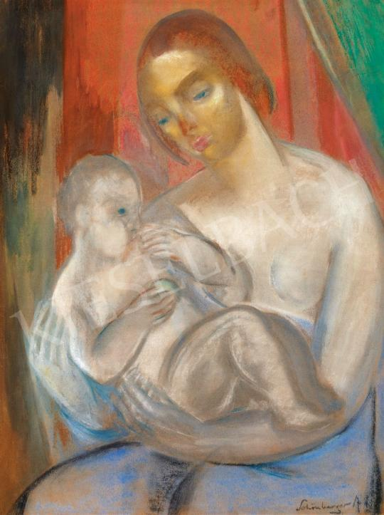 Schönberger, Armand - Mother with Child | Spring Auction auction / 104 Item