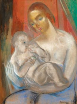 Schönberger, Armand - Mother with Child