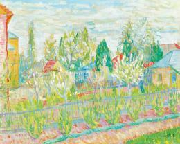 Czimra Gyula - Tavaszi kert (Meluzsin doktor úr háza)