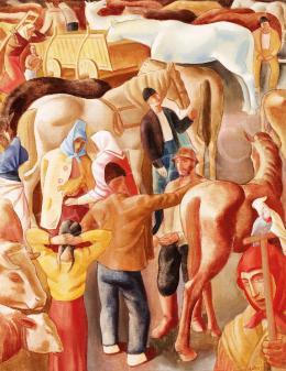Gábor, Jenő - Horse Market