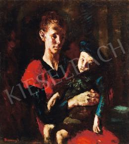 Barcsay, Jenő - Mother and Her Son