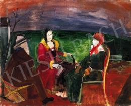 Farkas, István - The letter (Late letter, Chat), about 1930