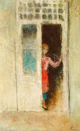 Szőnyi István - Zsuzsika az ajtóban
