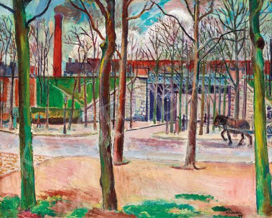 Korda, Vince - Railway Bridge in Paris | Spring Auction auction / 167 Item