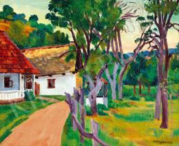 Vörös, Géza - Village Landscape