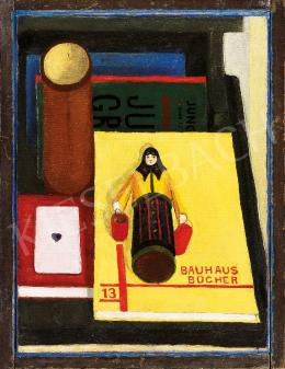 Dési Huber, István - Still-life with Bauhaus Book