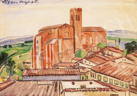 Vaszary János - A Siena-i dóm | 16. Aukció aukció / 22 tétel