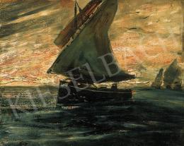 Gulácsy, Lajos - Sailing boat