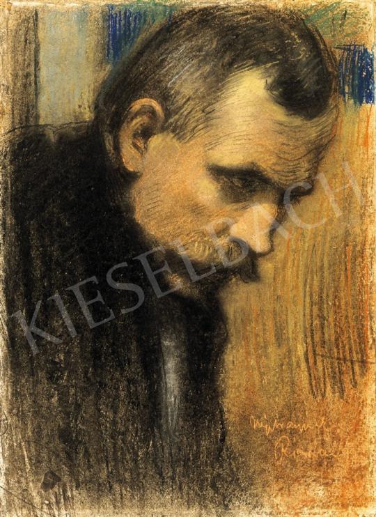 Rippl-Rónai József - Nyitray József arcképe | 16. Aukció aukció / 32 tétel
