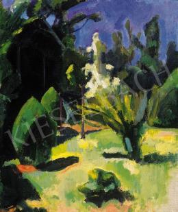 Berény Róbert - Parkrészlet (1909)