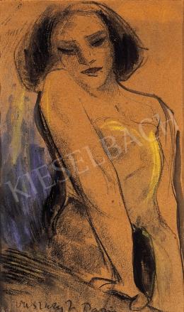 Vaszary, János - Parisian woman