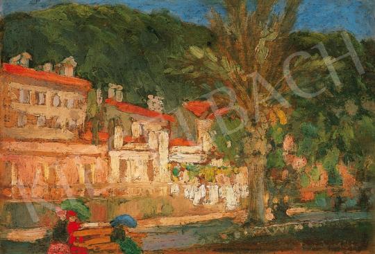 Vaszary János - Nizza | 16. Aukció aukció / 44 tétel