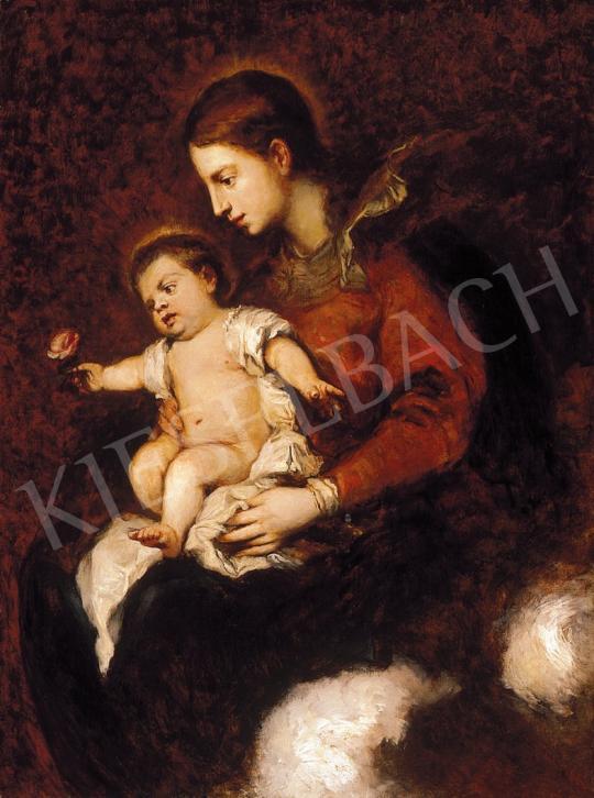 Benczúr Gyula - Madonna a gyermek Jézussal | 16. Aukció aukció / 66 tétel
