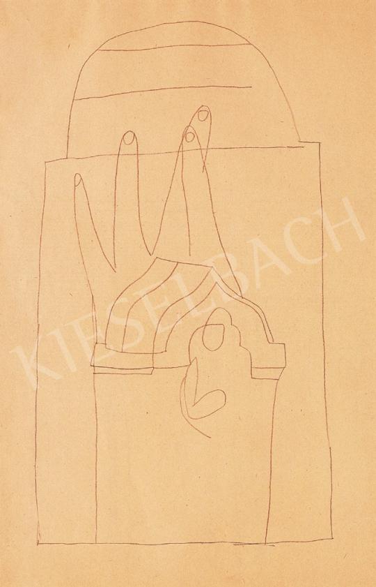 Vajda Lajos - Kápolna kézzel | 16. Aukció aukció / 83 tétel