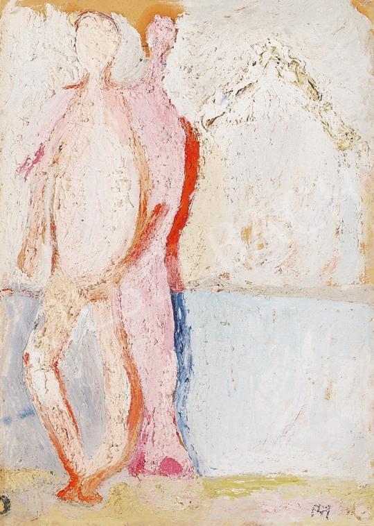 Tóth, Menyhért - Couple on waterside | 16th Auction auction / 87 Item