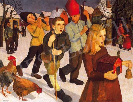 Hegedűs Endre - Betlehemesek, 1936 | 16. Aukció aukció / 126 tétel