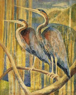Hegedűs, Endre - Herons, 1943