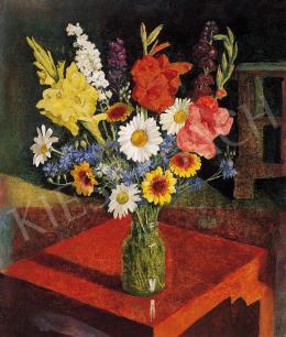 Hegedűs, Endre - Still-life of flowers, 1943