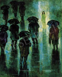 Bortnyik Sándor - Tavaszi eső