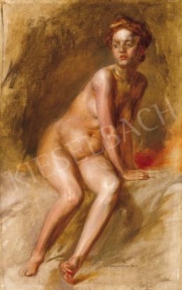 Karlovszky Bertalan - Vörös hajú lány