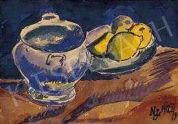 Nemes Lampérth József - Csendélet citromokkal II. (1912)