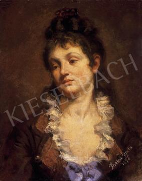 Stetka Gyula - Női portré   12. Aukció aukció / 6 tétel