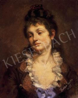 Stetka Gyula - Női portré