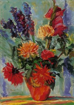 Frank Frigyes - Virágcsendélet | 12. Aukció aukció / 31 tétel