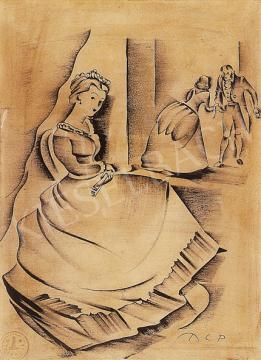 Molnár C. Pál - Bálban | 12. Aukció aukció / 37 tétel