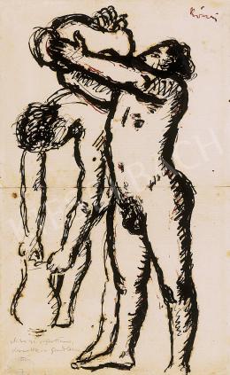 Rippl-Rónai József - Mikor ezt rajzoltam,  Kernstokra gondoltam