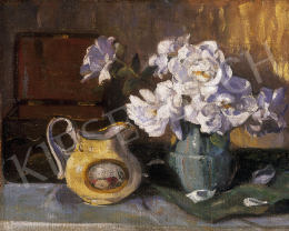 Endre, Béla - Still life of flowers with a pot