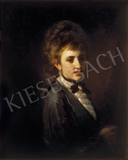 Munkácsy, Mihály - Portrait of young lady