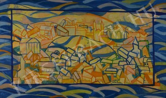 Eladó Pintér Éva - Város festménye