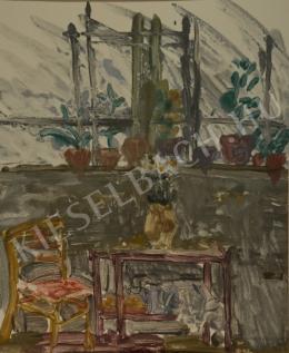 Pintér Éva - Műtermi vázlat