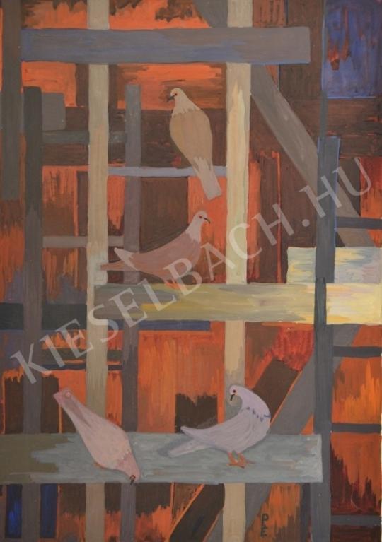 Eladó Pintér Éva - Galambok festménye