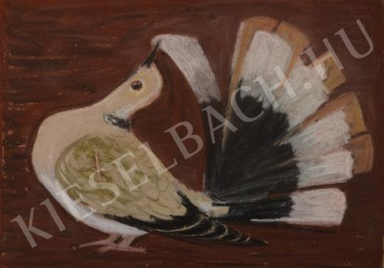 Eladó Pintér Éva - Tollázkodó gerle festménye