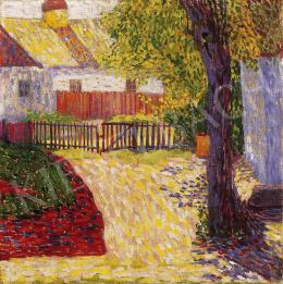 Szigeti Jenő - Napfényes udvar