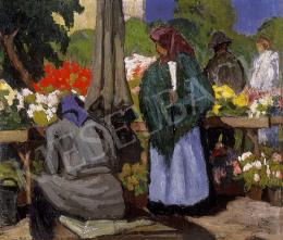 Balla Béla - Virágpiac