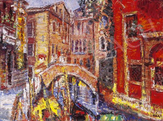 Vén Emil - Velencei részlet   12. Aukció aukció / 176 tétel
