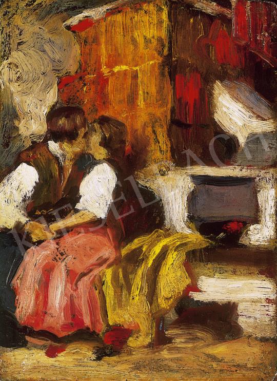 Thorma János - Csók   12. Aukció aukció / 179 tétel